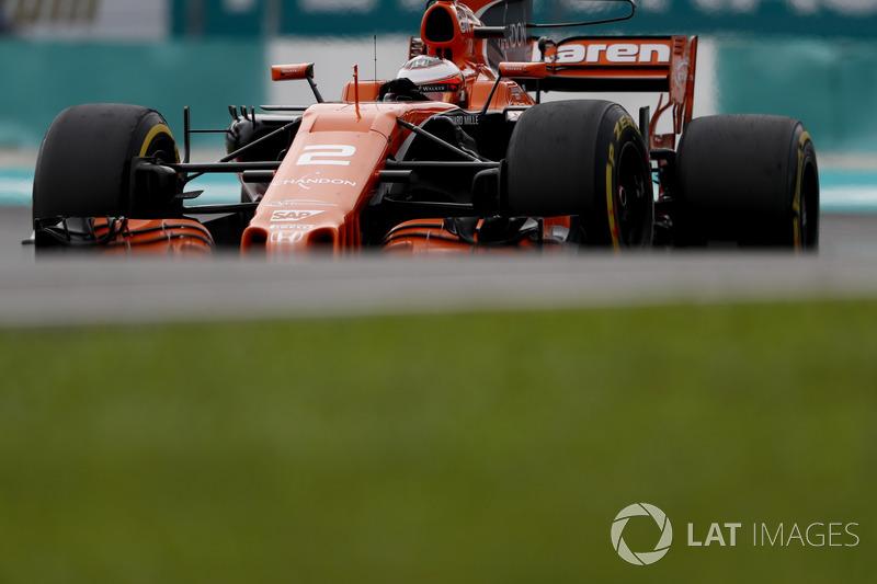 7e : Stoffel Vandoorne (McLaren-Honda)