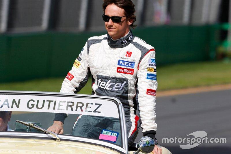 #16 Esteban Gutierrez, Sauber F1