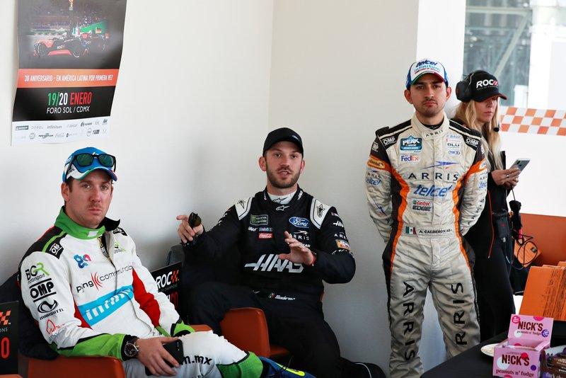 Benito Guerra, Daniel Suarez, Abraham Calderon
