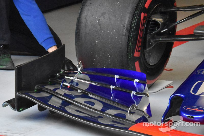 Toro Rosso, detalle técnico del morro