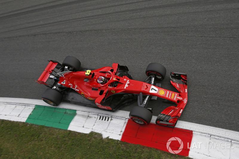 Italie - Kimi Räikkönen, Ferrari