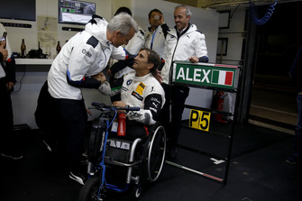 Alex Zanardi, BMW Team RMR ry Jens Marquardt, directeur de BMW Motorsport