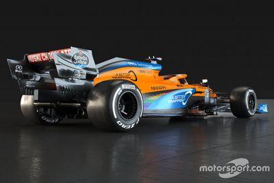 McLaren renk düzeni tanıtımı