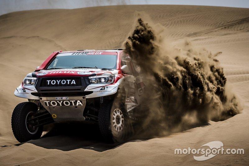 #302 Toyota Gazoo Racing SA: Giniel De Villiers, Dirk Von Zitzewitz