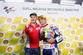 Jorge Lorenzo, Ducati Team with Jorge Martin, Del Conca Gresini Racing Moto3