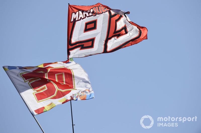Bendera Marc Marquez
