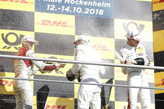 Podium: Champion Gary Paffett, Mercedes-AMG Team HWA, René Rast, Audi Sport Team Rosberg, Gary Paffett, Mercedes-AMG Team HWA
