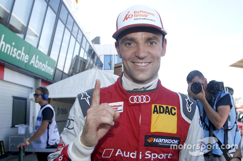 Pole position for Jamie Green, Audi Sport Team Rosberg, Audi RS 5 DTM