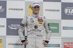 Podium, Maximilian Günther Prema Powerteam Dallara F312 - Mercedes-Benz