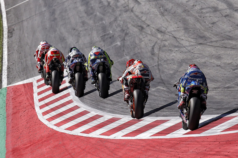Marc Marquez, Repsol Honda Team, Valentino Rossi, Yamaha Factory Racing, Jorge Lorenzo, Yamaha Factory Racing, Andrea Iannone, Ducati Team, Andrea Dovizioso, Ducati Team
