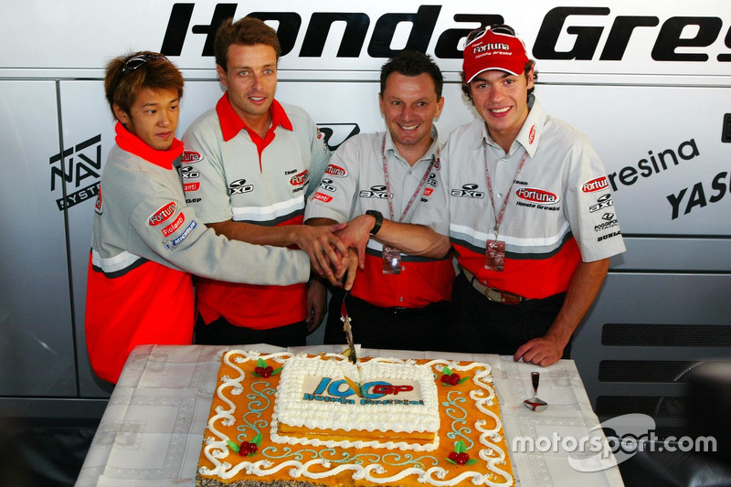 2002 - Déjà 100 Grands Prix !