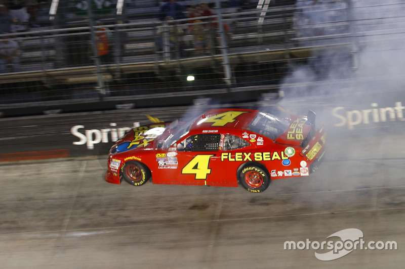 Ross Chastain, Chevrolet, incidente