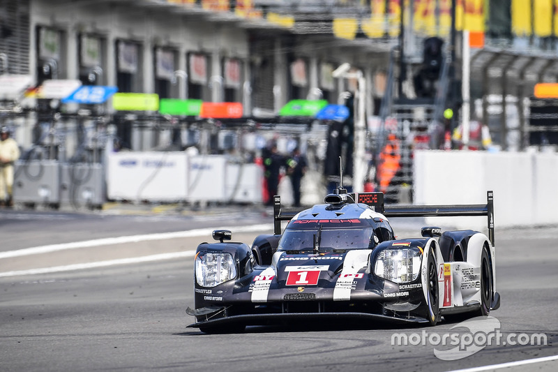 1. LMP1: #1 Porsche Team, Porsche 919: Timo Bernhard, Mark Webber, Brendon Hartley
