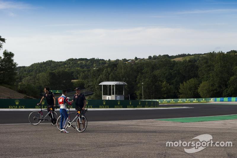 Antonio Fuoco, Trident mit Max Verstappen, Red Bull Racing