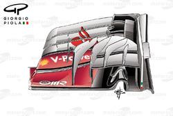 الجناح الامامي لسيارة فيراري اس.اف16-اتش فى ماليزيا