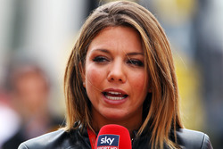 Federica Masolin, présentatrice Sky F1 Italia