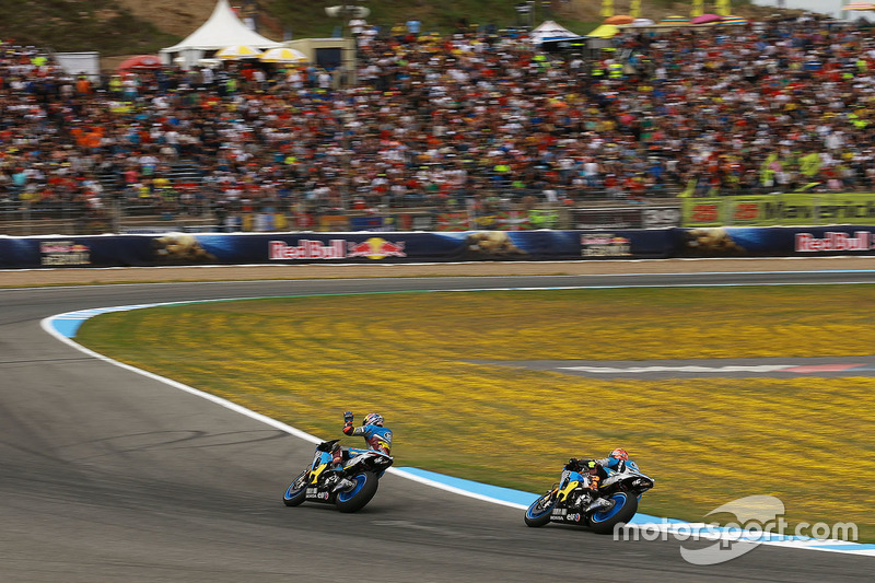Tito Rabat, Marc VDS Racing Honda and Jack Miller, Marc VDS Racing Honda