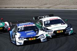 Philipp Eng, BMW Team RBM, BMW M4 DTM, Mike Rockenfeller, Audi Sport Team Phoenix, Audi RS 5 DTM