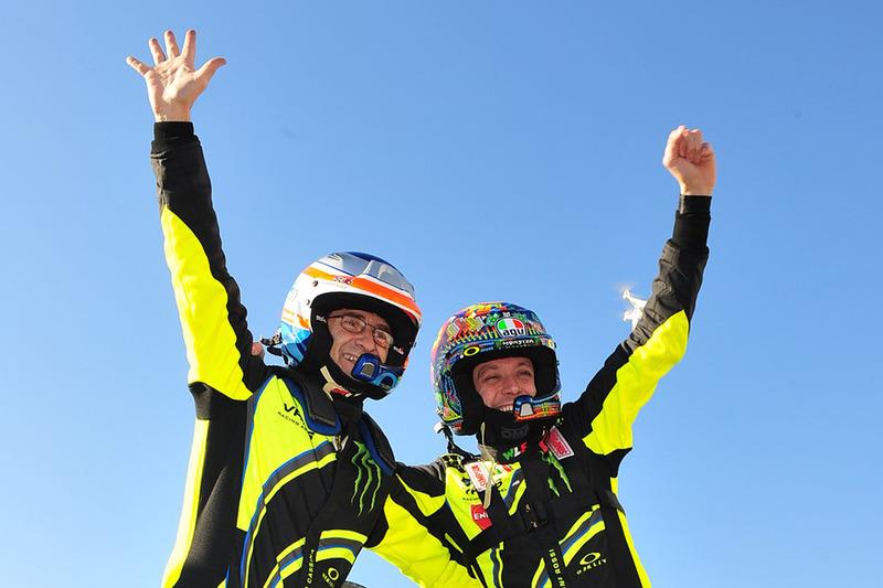 Winnaars Valentino Rossi, Carlo Cassina, Ford Fiesta WRC