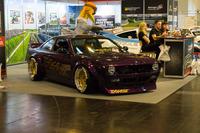 Opel am Stand der Motorsport Arena Oschersleben