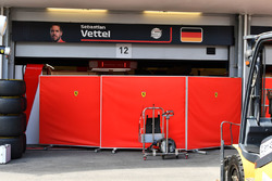 Ferrari garage screens