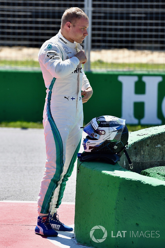 Valtteri Bottas, Mercedes-AMG F1 in parc ferme