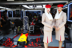 Etihad crew bij Red Bull Racing