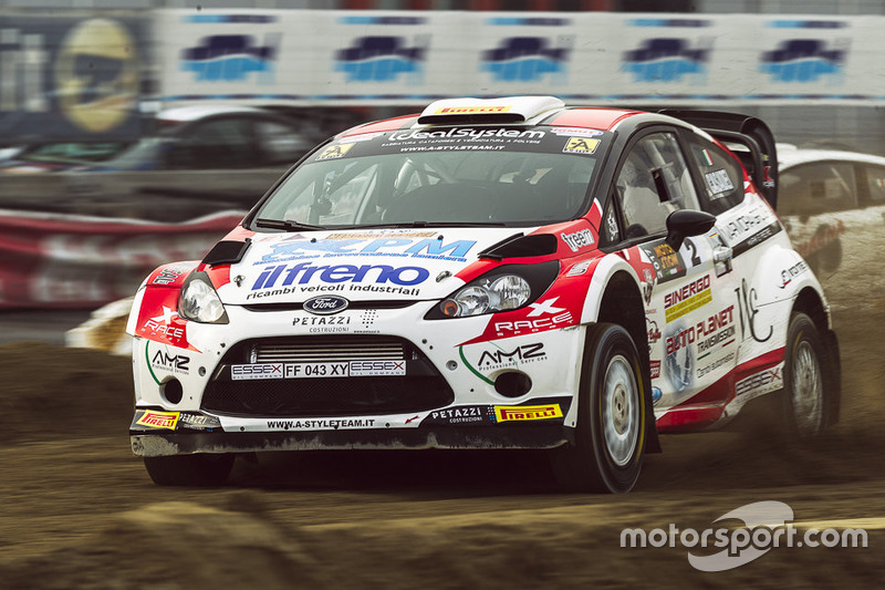 Gabriele Casadei, Ford Fiesta WRC