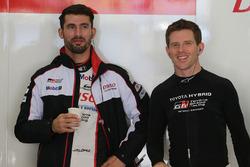 Anthony Davidson, Jose Maria Lopez, Toyota Gazoo Racing