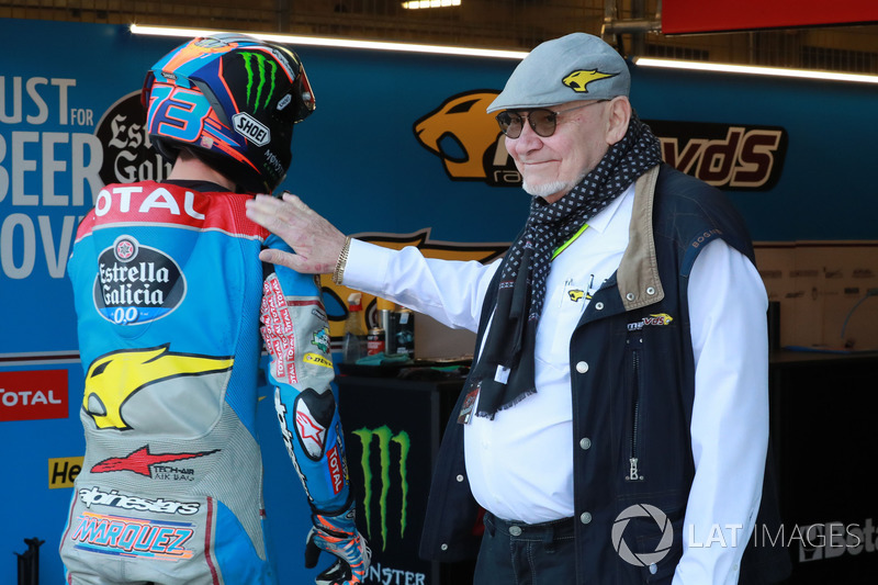 Alex Marquez, Marc VDS and team owner Marc van der Straten