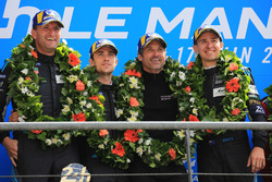 Podium LMGTE Am : winners Christian Ried, Julien Andlauer, Matt Campbell, Proton Competition, Patrick Dempsey, Dempsey Proton Competition