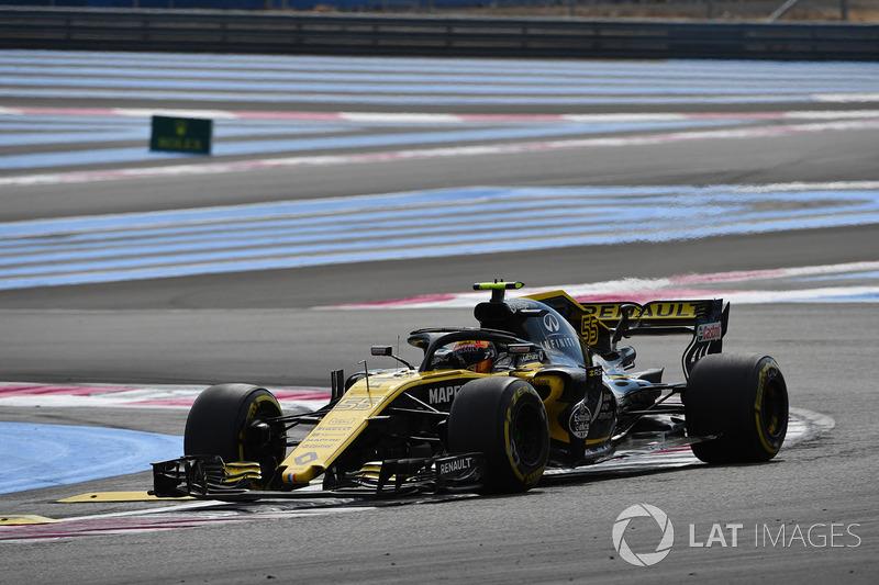 Сайнс повідомив про проблеми з потужністю наприкінці гонки