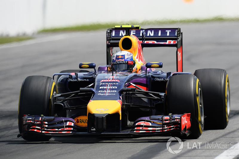 GP do Canadá 2014: A primeira vitória da carreira de Ricciardo veio após um acidente envolvendo Felipe Massa e Sergio Pérez.