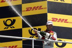 Podium: Mike Rockenfeller, Audi Sport Team Phoenix