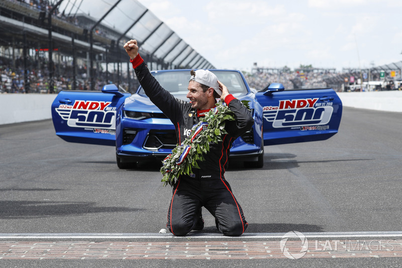 Pemenang Indy500 2018, Will Power, Team Penske Chevrolet