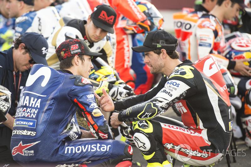 Cal Crutchlow, Team LCR Honda, Maverick Viñales, Yamaha Factory Racing