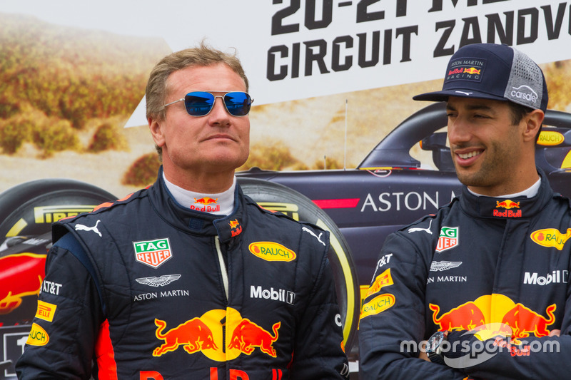 David Coulthard ve Daniel Ricciardo