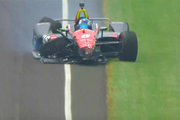 Авария: Роберт Уикенс, Schmidt Peterson Motorsports Honda