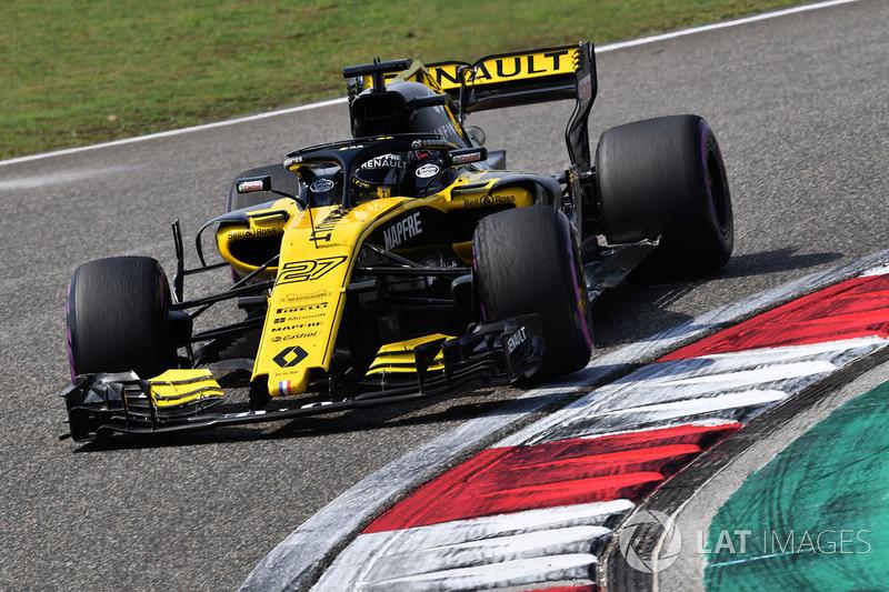 Gran Premio de China: la primera victoria de Hulkenberg, doblete de Renault y dos españoles en el podio