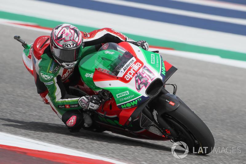 10. Aleix Espargaro, Aprilia Racing Team Gresini