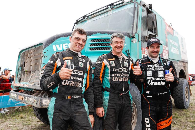 #509 Team De Rooy Iveco: Тон ван Генугтен, Бернард Дер Кінденер, Петер Віллемсен