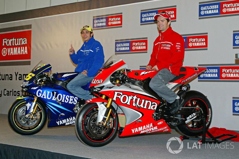 2004: Cambio a Yamaha