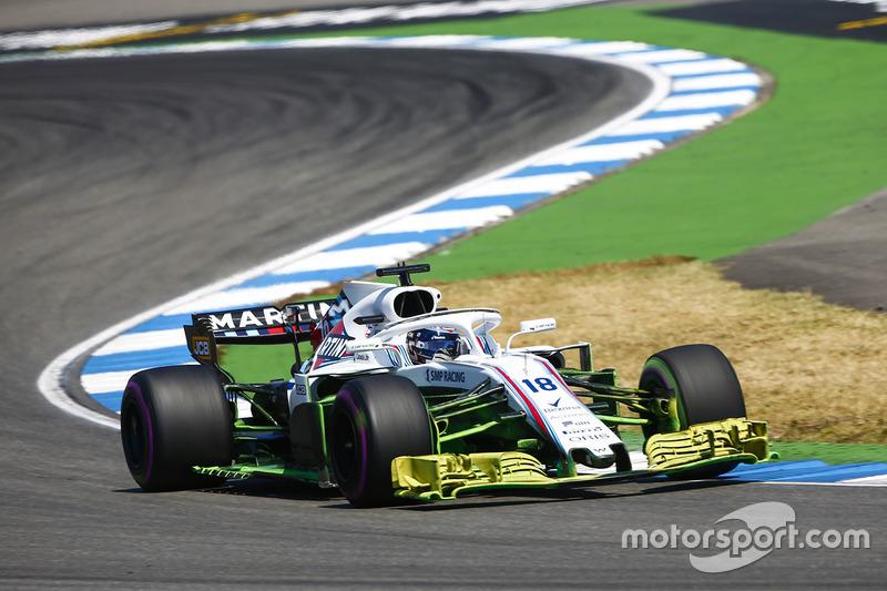 Тренировка Гран При Германии