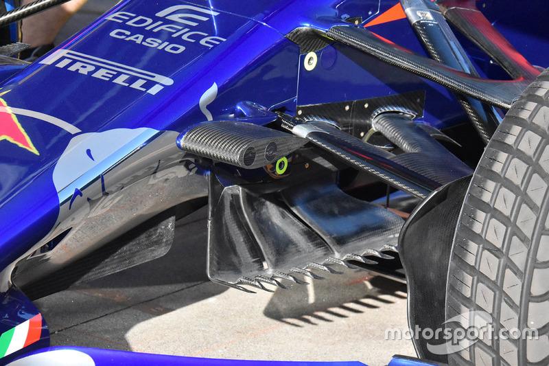 Toro Rosso STR13: Luftleitbleche