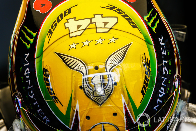 Brésil - Lewis Hamilton