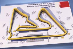 Мапа треку Бахрейну