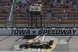 James Hinchcliffe, Schmidt Peterson Motorsports Honda takes the win