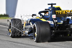 Carlos Sainz Jr., Renault Sport F1 Team R.S. 18 with aero sensor