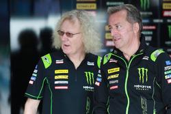 Guy Coulon, Hervé Poncharal, team principal Monster Yamaha Tech 3