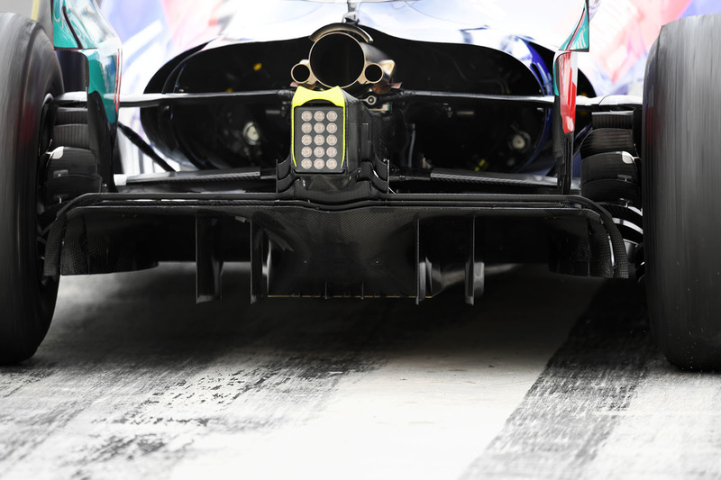 Le diffuseur de la Toro Rosso STR13